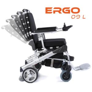 Ergo-09L : fauteuil roulant électrique pliable