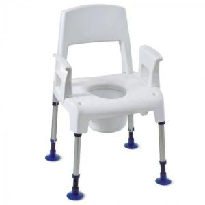 Chaise-de-douche-3en1 : AQUATEC PICO COMMODE