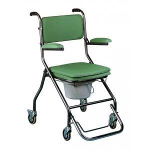 Chaise-percée-pliante à roues : GR192 Hms-Vilgo
